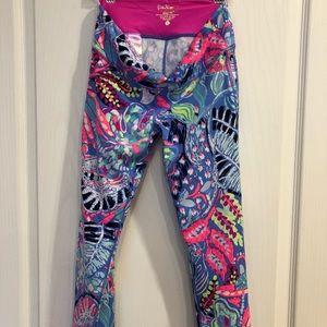 Lilly Pulitzer UPF 50+ Luxletic  crop  leggings